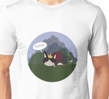 Lil' Cait Sith meowing Unisex T-Shirt