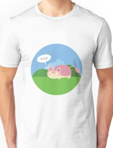 Lil' Skitty meowing Unisex T-Shirt