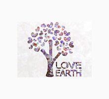 Purple blossom love earth Unisex T-Shirt