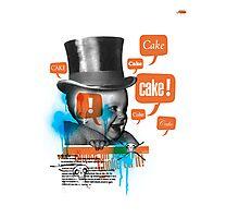 Cake Photographic Print