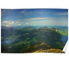 Lakes of the Salzkammergut Poster