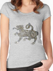 Celtic Lion Tee Women's Fitted Scoop T-Shirt