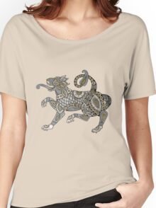 Celtic Lion Tee Women's Relaxed Fit T-Shirt