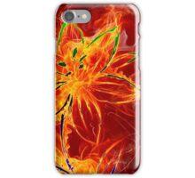 Fired flower iPhone Case/Skin