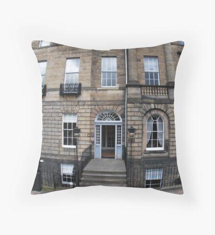 doors & windows Throw Pillow