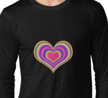 Hypno Heart T-Shirt Long Sleeve T-Shirt