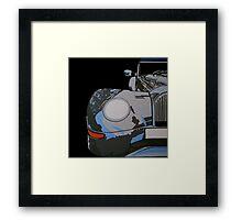MORGAN  AERO 8, FRONT Framed Print