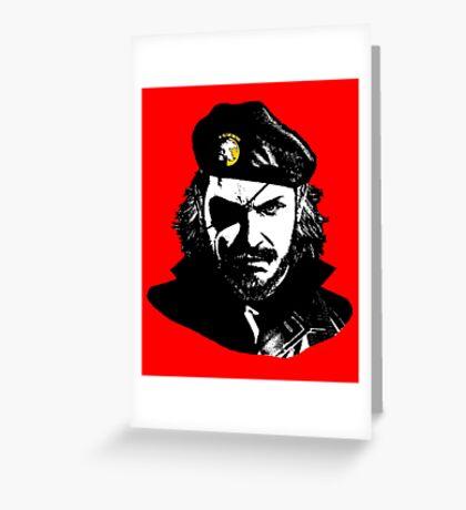 Big Boss Che Guevara  Greeting Card
