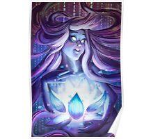 Pixel Lotus Poster