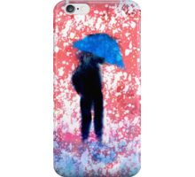 The Blue Umbrella iPhone Case/Skin