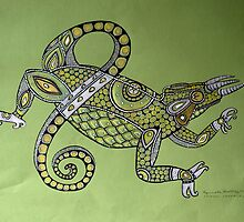 Jackson Chameleon by Lynnette Shelley
