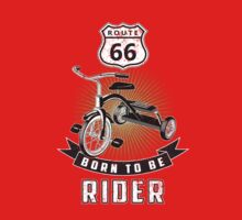 born to be rider One Piece - Short Sleeve