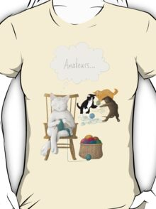 Of Cats and Yarn T-Shirt
