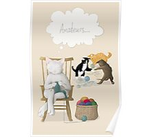 Of Cats and Yarn Poster