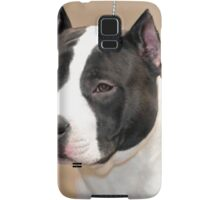 Young American Staffordshire Bull Terrier Samsung Galaxy Case/Skin