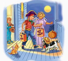 Dick and jane Trick or Treat by larry ruppert