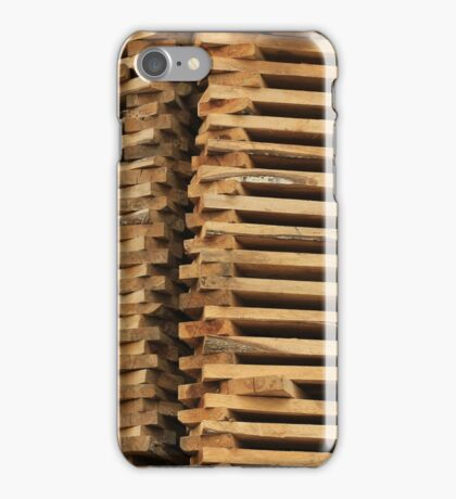 Stacked Wood Pile iPhone Case/Skin