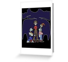 family portrait... Greeting Card