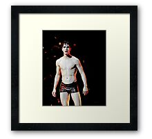 Darren as Hedwig Framed Print