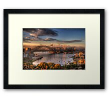 Anticipation - Moods Of A City - The HDR Experience Framed Print
