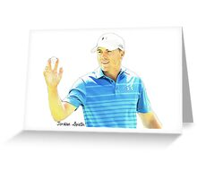 Jordan Spieth Greeting Card