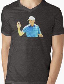 Jordan Spieth Mens V-Neck T-Shirt