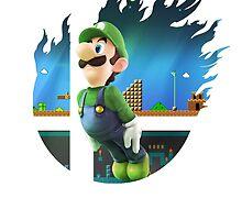 Smash Luigi by Jp-3
