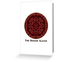 Fairy Tail - Fire Dragon Slayer Greeting Card