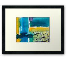 Internal Landscape 1038 Framed Print