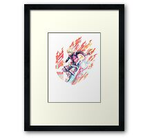 Smash Shulk Framed Print