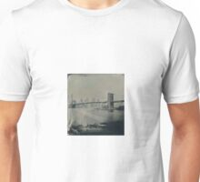View From Brooklyn Bridge Park (Tintype) Unisex T-Shirt