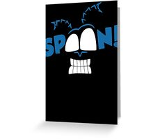 The Tick Spoon Greeting Card