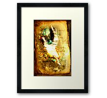 Mourning into Dancing Framed Print