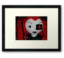 Gothic Nurse Framed Print