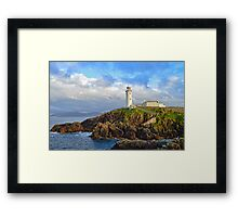 Fanad Head Lighthouse, Co. Donegal Framed Print