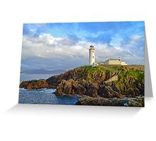Fanad Head Lighthouse, Co. Donegal Greeting Card
