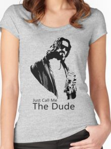 Just Call Me The Dude Women's Fitted Scoop T-Shirt