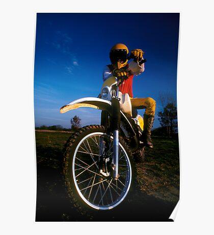 Dirt Biker Poster