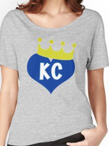 Heart KC - City of Royalty Women's Relaxed Fit T-Shirt