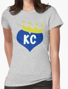 Heart KC - City of Royalty Womens Fitted T-Shirt
