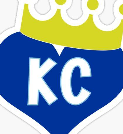 Heart KC - City of Royalty Sticker