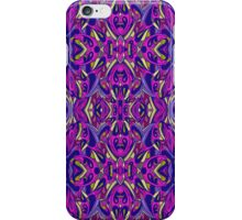 Abstract lilac pattern, abstract background iPhone Case/Skin