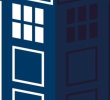 LATIN TARDIS Sticker