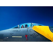 F-15 On Display Photographic Print