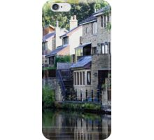 Leeds Liverpool Canal reflections iPhone Case/Skin