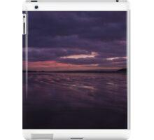 Purple Beach Sunset iPad Case/Skin