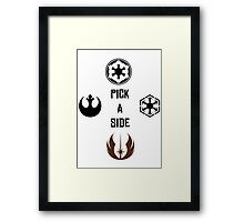 Factions - StarWars Framed Print