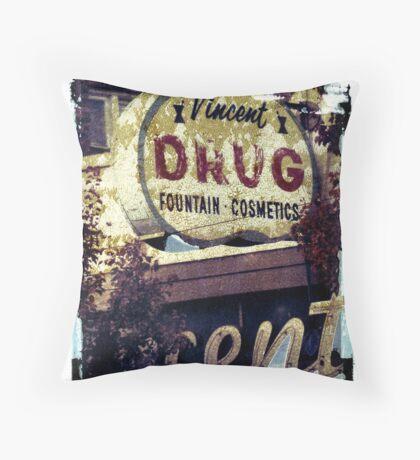 Vincent Drug Throw Pillow