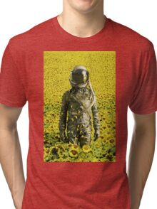 Stranded in the sunflower field Tri-blend T-Shirt