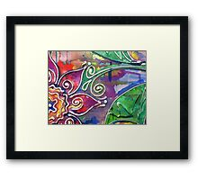 Colour me Softly (My first artwork sold on RB) Framed Print